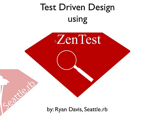 Test Driven Design using