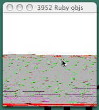 ruby memory visualizer [movie]